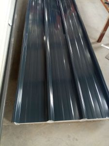 Profiled Galvanized Corrugated Metal Roofing Sheet and Trapezoid Roof Sheet pictures & photos