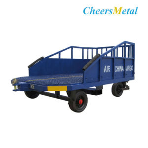 Airport Steel Baggage Cart pictures & photos
