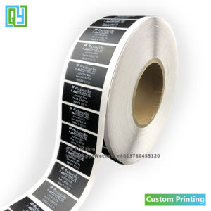 Custom Printing Vinyl PVC Laser Eggshell Promotion Candle Logo Waterproof Adhesive Labels and Stickers Paper