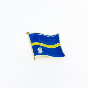 NAURU Flag Metal Lapel Pin Badge *NEW*