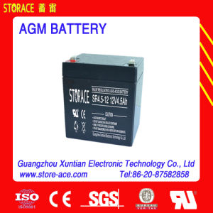 Sr4.5-12 Rechargeable Battery 12V 4.5ah Battery for Scooter pictures & photos