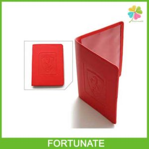 Cheap PVC Card Holder for Passport Ticket