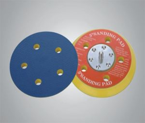 "5"" Sanding Pad with 5 Holes with Vinyl pictures & photos"