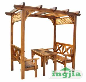 Solid Wood Patio Garden Canopy Outdoor