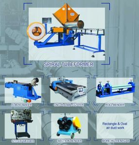Spiral Tube Forming Line (ZHTF-1500I, ZHTF-1500II) pictures & photos