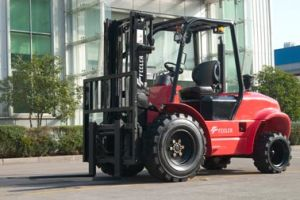Feeler 2.5-5.0t Rough Terrain Forklift pictures & photos