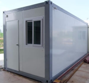 Folding Container House with Desk for Cement Plant Office pictures & photos