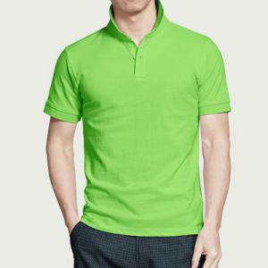 High Quality Custom Polo Shirt with Logo pictures & photos