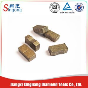 China Concrete Diamond Sandwich Segment pictures & photos