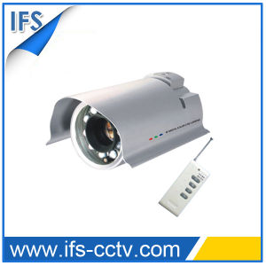 IR Waterproof CCTV Zoom Camera with Remote Controller (IRC-802R)