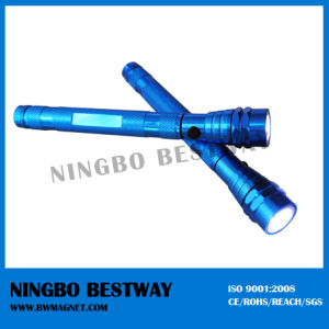 Extendable Magnetic Flashlight with CE and SGS Certification pictures & photos