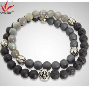China Smb001 Classical Raw Semi Precious Stones Bracelet China Raw