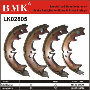 Environment Friendly Brake Shoe (LK02805) pictures & photos