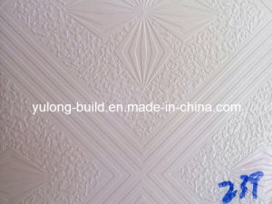 PVC Facing Gypsum Ceiling Tiles pictures & photos