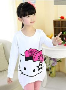 Long-Sleeved Spring & Autumn Children Clothing T-Shirt Lt4