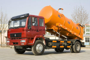 China Brand 20tons Suction Sewage Truck