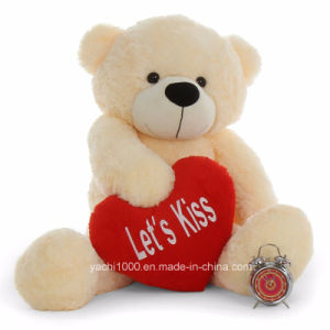 30cm Valentine′s Teddy Bear with Heart pictures & photos