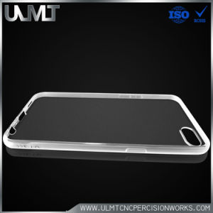 Transparent Mobile Phone Protective Cover for Injection Molding Product