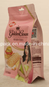 Stand up Zipper Flat Bottom Packaging Bag for Oat Chocolate pictures & photos