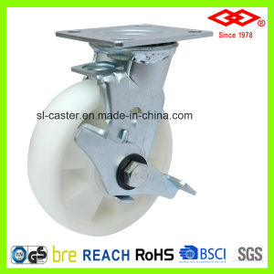 All Size Swivel Side Brake PP Caster (P740-30FB150X45Z) pictures & photos
