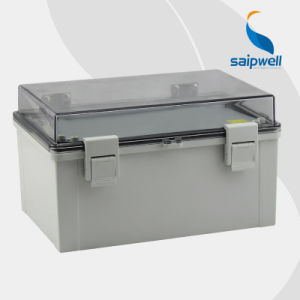 Outdoor Transparent PC Enclosure Box with Hinge (SP-PCT-403017)