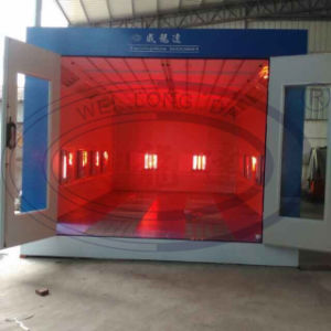 Car Spray Paint Booth with Infrared Lamp Wld7200 pictures & photos