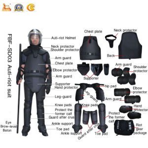 Hot Sale Police Anti Riot Suit for Military Fbf-SD03 pictures & photos
