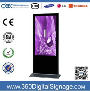 47 Inch 1080P Vertical Digital Signage Advertising Kiosk with Network 3G/WiFi for Commercial Buildings