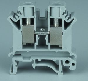 UK Type DIN Rail Terminal Block UK-10n pictures & photos