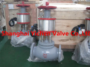 Brass Flange Globe Valve (Z41) pictures & photos