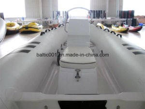 Qingdao Inflatable Boat Rib Console Boat 360 Ce