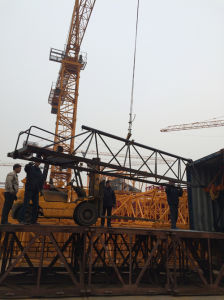 Qtz50 (5010) Hydraulic Tower Crane for Construction with CE Certificate Made in China