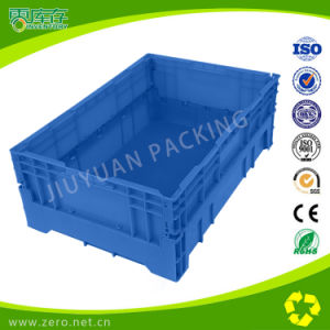 China Plastic Moulding Factory Offer Plastic Crate Foldable