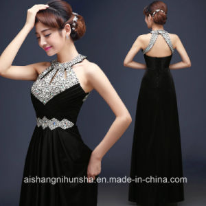 China Satin Evening Dresses Long Formal Lace up Prom Dress - China ...