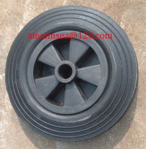 Solid Rubber Wheel 8 Inch pictures & photos