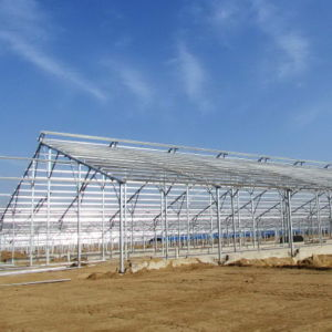 Prefab Steel Structure with Farm Equipment From Hapy 2021