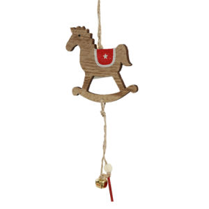 wooden christmas hanging ornaments for christmas decoration or trees in stock - Hanging Christmas Decorations
