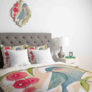 Hot Sell Spring Bird Quilt with High Quality