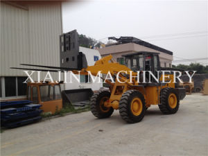 CE Mini Container Diesel Forklift Loader for Double Use