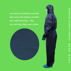 Disposable Nonwoven Protective Coverall pictures & photos