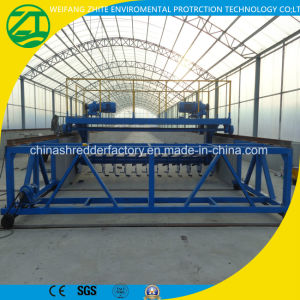 Organic Fertilizer Compost/Open Roller Tuning Throw Machine with High Quality pictures & photos