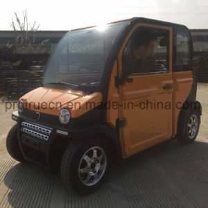 Hot Sale Electric Passenger Scooter Car with DC Motor pictures & photos