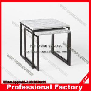 china crystal marble top round or square side table for living room rh topsculptures en made in china com