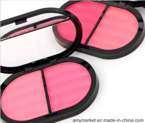 Miss Rose 2 Color Cosmetic Blushers 4 Color Series Light Portable Makeup  Blush