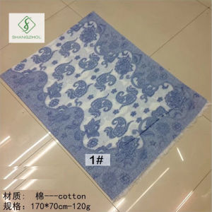 2017 New Fashion Lady Pashmina Jacquard Scarf with Cashew Shawl pictures & photos
