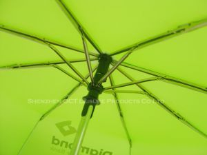 Customized 3fold Auto Open & Close Umbrella of High Quality pictures & photos