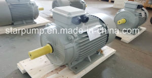 Stripe Pattern Cover Three Phase Electric Motor