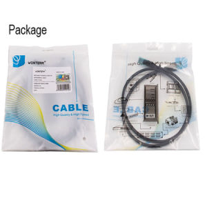 CAT6 UTP/FTP/SFTP Patch Cord 7*0.12mm / 7*0.16mm / 7*0.18mm Grey pictures & photos