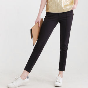 Ladies Fashion Casual Preppy Style Rib Jeggings Pants pictures & photos
