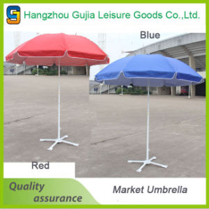 2.7m Steel Waterproof Convenient Straight Market Umbrellas
